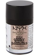 NYX Professional Makeup Glitter Paillettes Metallic Glitzer 2.5 g Nr. 04 - Goldstone