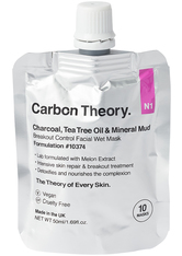 CARBON THEORY - Charcoal and Tea Tree Oil Mineral Breakout Control Facial Wet Mask - CLEANSING