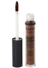 NYX Professional Makeup Can't Stop Won't Stop Contour Concealer (Various Shades) - Deep Espresso