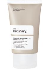 THE ORDINARY - The Ordinary Vitamin C Vitamin C Suspension 23% + HA Spheres 2% 30 ml - TAGESPFLEGE