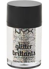 NYX Professional Makeup Glitter Brilliants Face & Body Glitzer 2.5 g Nr. 06 - Crystal