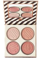 BH COSMETICS - Truffle Blush Quad  Chocolate Orange - ROUGE
