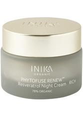 INIKA - INIKA Organic Phytofuse Renew Resveratrol Rich Nachtcreme  50 ml - NACHTPFLEGE