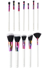 BEAUTY BAY - Prism 12 Piece Travel Brush Set With Holder - Makeup Pinsel