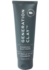 GENERATION CLAY - Detoxifying Charcoal Clay Mask  Detoxifying Charcoal Clay Mask Supersize - CREMEMASKEN
