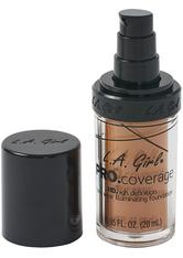 L.A. Girl - Foundation - Pro Coverage Liquid Foundation - GLM 651 - Bronze