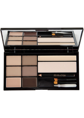 MAKEUP REVOLUTION - Makeup Revolution - Augenbrauen Set - Ultra Brow - Bulletproof - Fair to Medium - AUGENBRAUEN