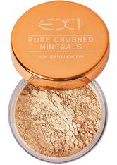EX1 COSMETICS - EX1 Cosmetics Pure Crushed Mineral Puder Foundation 8gr (verschiedene Nuancen) - 3.5 - Gesichtspuder