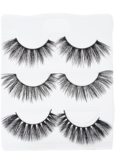 ACE BEAUTE - Faux Mink Lashes Glam Girl Eyelash Trio - FALSCHE WIMPERN & WIMPERNKLEBER
