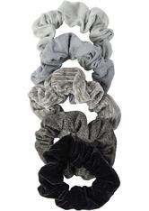 Velvet Scrunchies BlackGray
