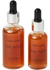 TAN-LUXE - The Face and The Body Duo MediumDark - Selbstbräuner