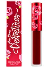 Lime Crime Velvetine Matte Lipstick 2.6ml Feelins (Deepest True Red)