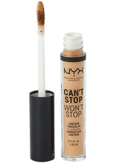 NYX Professional Makeup Can't Stop Won't Stop Contour Concealer (Various Shades) - Neutral Tan