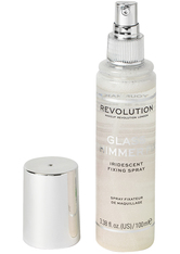 MAKEUP REVOLUTION - Glass Shimmer Fix Fixing Spray - FIXIERUNG