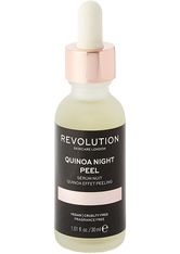 MAKEUP REVOLUTION - Revolution - Gesichtspeeling - Skincare Gentle Quinoa Night Peel Serum - SERUM