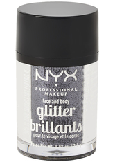 NYX Professional Makeup Face & Body Glitter (Various Shades) - Gunmetal