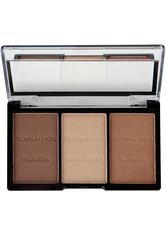 MAKEUP REVOLUTION - Makeup Revolution - Makeup Palette - Ultra Brightening Contour Kit Ultra - Light/Medium C04 - CONTOURING & BRONZING