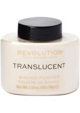 Revolution - Puder - Loose Baking Powder - Translucent