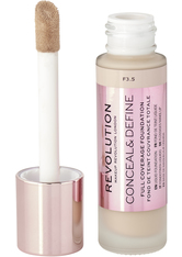 MAKEUP REVOLUTION - Revolution - Foundation - Conceal & Define Foundation - F3.5 - Concealer