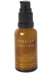 AURELIA PROBIOTIC SKINCARE - Aurelia Probiotic Skincare - CBD Super Serum + Probiotics  - Hyaluronsäure Serum - Serum