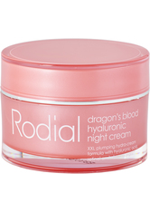 Rodial Dragon's Blood Hyaluronic Night Cream Nachtcreme  50 ml