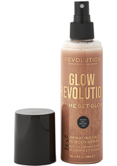 MAKEUP REVOLUTION - Revolution - Gesicht & Körperspray - Glow Revolution - Illuminating Face & Body Spray - Timeless Bronze - FIXIERUNG