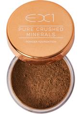 EX1 COSMETICS - EX1 Cosmetics Pure Crushed Mineral Puder Foundation 8gr (verschiedene Nuancen) - 14.0 - Gesichtspuder