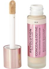 MAKEUP REVOLUTION - Makeup Revolution - Foundation - Conceal & Define Foundation F6.5 - FOUNDATION