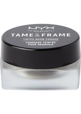 NYX Professional Makeup Tame & Frame Tinted Brow Pomade Augenbrauengel  5 g Nr. 05 - Black