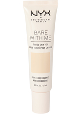 NYX PROFESSIONAL MAKEUP - NYX Professional Makeup Bare With Me Tinted Skin Veil Flüssige Foundation  27 ml Nr. 01 - Pale Light - Bb - Cc Cream
