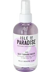 Isle of Paradise Selbstbräuner Dark Self-Tanning Water Selbstbräunungsspray 200.0 ml