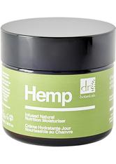 Dr. Botanicals Hemp Infused Natural Nutrition Moisturiser Gesichtscreme  50 ml