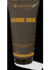 YVES ROCHER - Yves Rocher Duschgel & Haarshampoo - Ambre Noir - Dusch-Shampoo für Männer - Shampoo