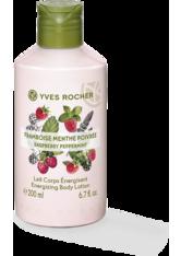 YVES ROCHER - Körpermilch Himbeere-Pfefferminze - KÖRPERCREME & ÖLE