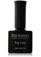 MISS SOPHIE'S - Miss Sophie's Nägel Überlacke Glossy Top Coat 10 ml - BASE & TOP COAT