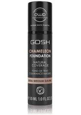GOSH Copenhagen Chameleon  Flüssige Foundation 30 ml Nr. 006 - Medium Dark