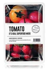 DERMAL It's Real Superfood Tomato Tuchmaske  1 Stk