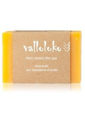 VALLOLOKO - Valloloko Here Comes the Sun Sanddorn-Extrakt Stückseife  100 g - SEIFE