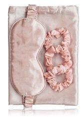 Zoë Ayla Silky Pink Sleep Set Schlafmaske 1 Stk