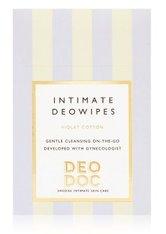 DeoDoc Intimate deowipes Violet Cotton Intimpflegetücher 10 Stk