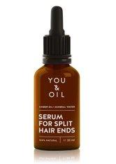 YOU & OIL Nourish & Brighten Amber Oil+Mineral Water Haaröl  30 ml