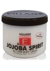 Village Pflege Vitamin E Body Cream Jojoba Spirit 500 ml