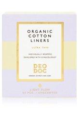 DeoDoc Organic cotton Liners Tampon 24 Stk