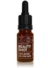 YOU & OIL Beauty Shots 100 % Botox Oil Gesichtsöl 10 ml
