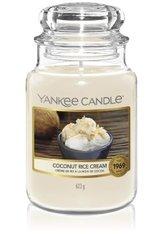 YANKEE CANDLE - Yankee Candle Coconut Rice Cream Housewarmer Duftkerze  623 g - Duftkerzen