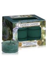 YANKEE CANDLE - Yankee Candle Tea Lights The Perfect Tree Duftkerze 12 Stk - DUFTKERZEN