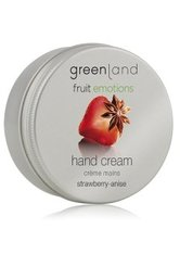 GREENLAND - Greenland Fruit Emotions Strawberry-Anise Handcreme 50 ml - HÄNDE