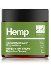Dr. Botanicals Hemp Natural Super Enzyme Mask Gesichtsmaske 60 ml