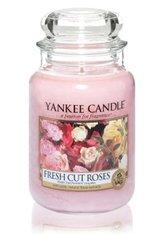 YANKEE CANDLE - Yankee Candle Housewarmer Fresh Cut Roses Duftkerze 0,623 kg - DUFTKERZEN