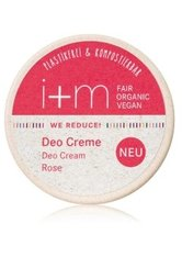 I+M NATURKOSMETIK - i+m Naturkosmetik WE REDUCE! Rose Deodorant Creme  120 ml - Roll-On Deo